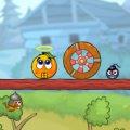 Игра Игра Спаси апельсин: Путешествие Рыцарей
