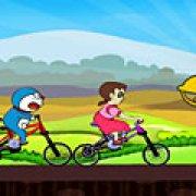 Игра Игра Дораэмон гонки велосипеды
