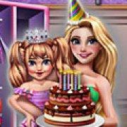 Игра Игра Рапунцель день рождения дочери