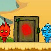 Игра Игра Огонь и Вода в пустыне