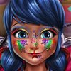 Игра Игра Леди Баг блестящий макияж