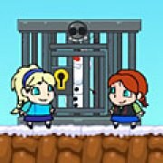 Игра Игра Холодное сердце на двоих Эльза спасает Олафа