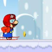 Игра Игра Марио на лыжах