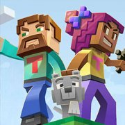 Игра Игра Майнкрафт: соедини блоки персонажей