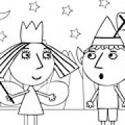 Игра Игра Маленькое королевство раскраска