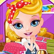 Игра Игра Малышка Барби украшает комнату