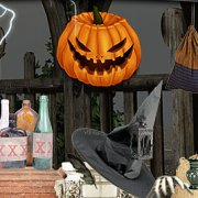 Игра Игра Поиск предметов: один на Хэллоуин