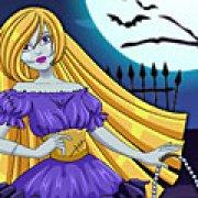 Игра Игра Рапунцель принцесса зомби