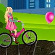 Игра Игра Барби: езда на велосипеде