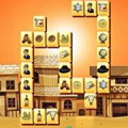 Игра Игра Маджонг: Бравый шериф