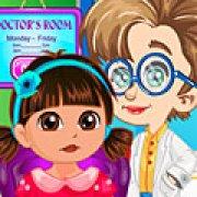 Игра Игра Безделье Даши у доктора