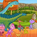 Игра Игра Поезд динозавров церемония