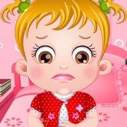 Игра Игра Малышка Хейзел лечит желудок