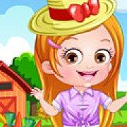 Игра Игра Малышка Хейзел фермер