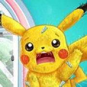 Игра Игра Покемоны больница и одевалки: Пикачу