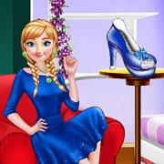 Игра Игра Холодное сердце Анна дизайнер обуви