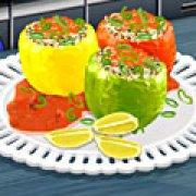 Игра Игра Кухня Сары фаршированный перец