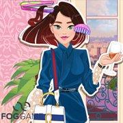 Игра Игра Французская Мода: Прически и Одевалки