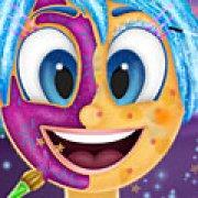 Игра Игра Головоломка: макияж Радости