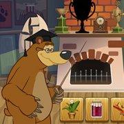 Игра Игра Маша и Медведь силуэт