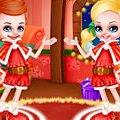 Игра Игра Малышка Барби и Кен Новый год