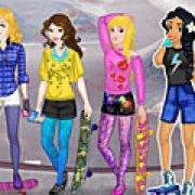 Игра Игра Принцессы Диснея: скейтборд