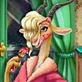 Игра Игра Зверополис: реальный макияж Газель