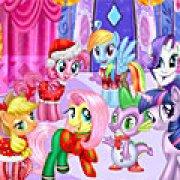 Игра Игра Пони новогодняя вечеринка