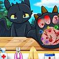 Игра Игра Как приручить дракона: лечить лапу Беззубика