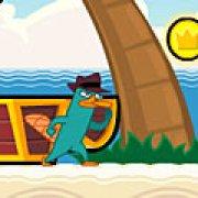 Игра Игра Финес и Ферб: Агент П Остров сокровищ