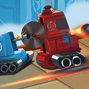 Игра Игра Стратегия: Маленькие Синие Против Мини Красных