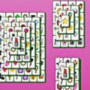 Игра Игра Розовый маджонг