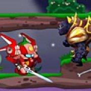 Игра Игра Бой фруктовых роботов