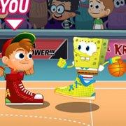 Игра Игра Никелодеон: Звезды Баскетбола 3