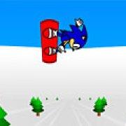 Игра Игра Соник-сноубордист 3Д