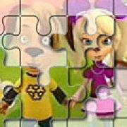 Игра Игра Пазлы для девочек Барбоскины