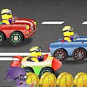 Игра Игра Миньоны: сумасшедшая гонка
