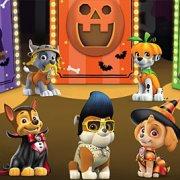 Игра Игра Щенячий Патруль: головоломка вечеринка Хэллоуин