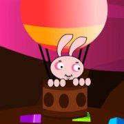 Игра Игра Кролик Берни летит на воздушном шаре