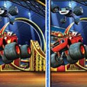 Игра Игра Вспыш и чудо машинки найди отличия