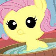 Игра Игра Уход за малышкой пони Флаттершай