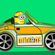 Игра Игра Миньоны на машине