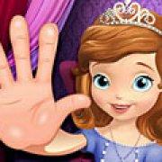 Игра Игра Принцесса София лечить руки