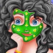 Игра Игра Моана макияж принцессы