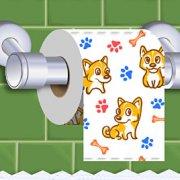 Игра Игра Раскрути Туалетную Бумагу