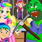 Игра Игра Принцесса Джульетта побег из золотой шахты
