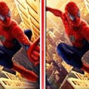 Игра Игра 10 отличий Человека паука