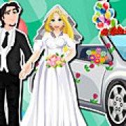Игра Игра Рапунцель автомойка свадебной машины