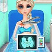 Игра Игра Холодное сердце: беременная Эльза рожает двойню