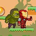 Игра Игра Халк и Железный человек на двоих 2